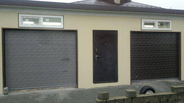 гаражные секционные ворота дорхан в екатеринбурге